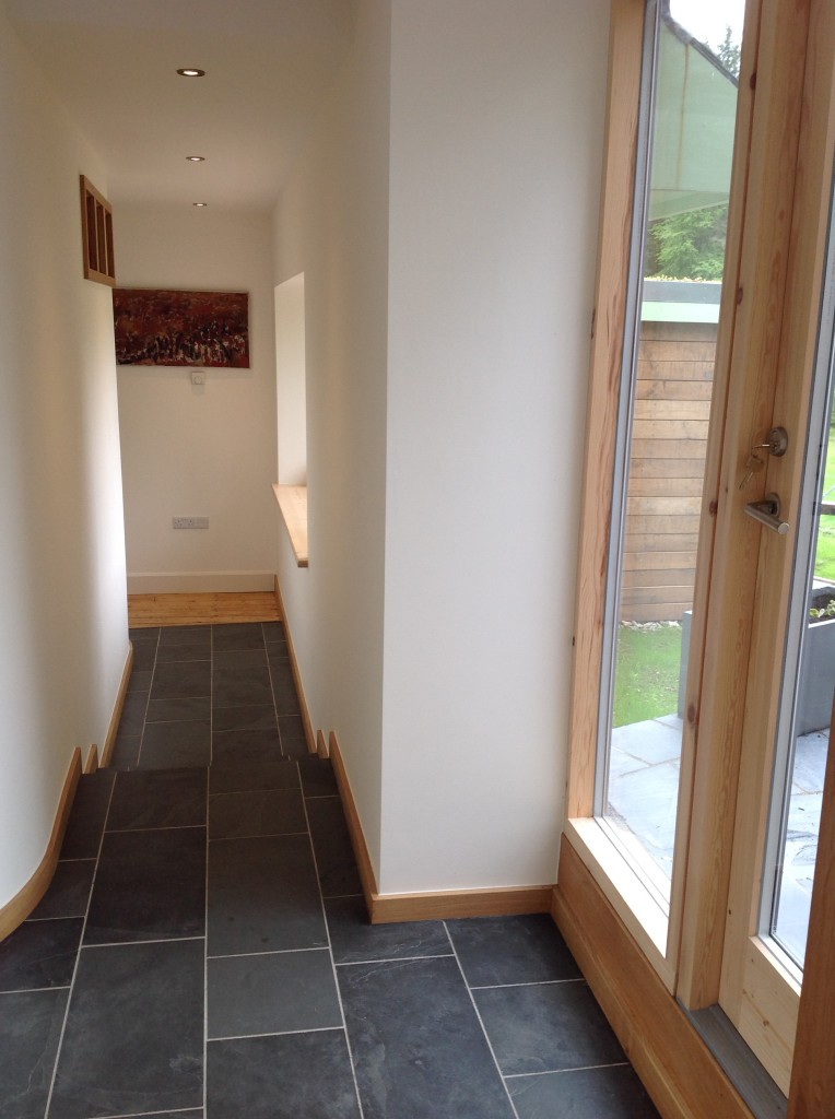 Corridor to bedroom area
