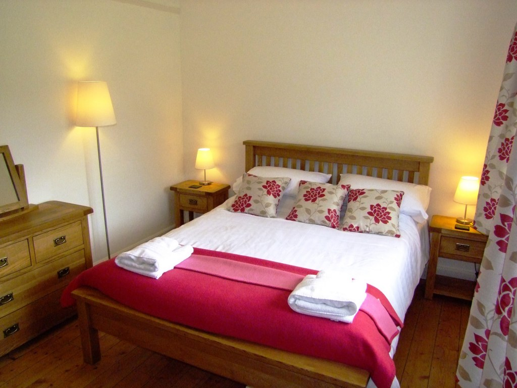 The second bedroom with large double bed